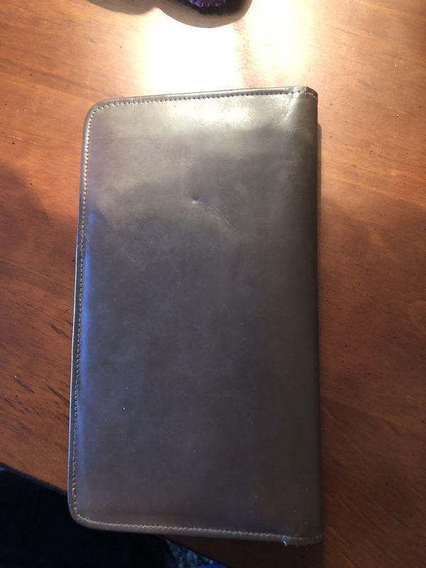 Leather Pocketbook