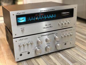 Vintage Marantz Model 1060 Integrated amplifier & 105 tuner for Sale in Queens, NY