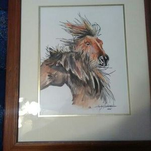 Watercolor By Mark Peterson for Sale in Norman, OK