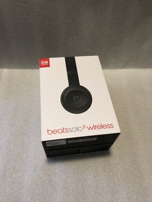 Beats Solo3 Wireless Bluetooth headphones for Sale in Washington, DC