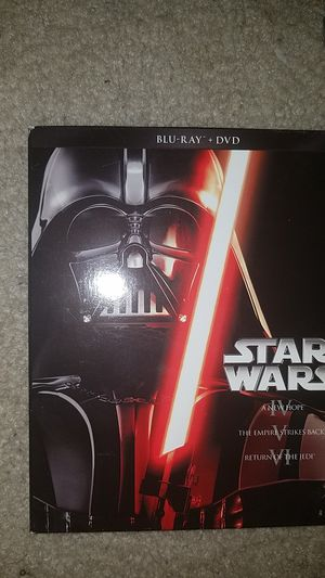 Star wars collectible series movies 1-6 for Sale in Manassas, VA