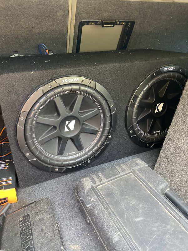 "10"" kickers with amp"