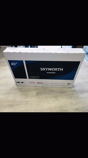 40 INCH SKYWORTH SMART TV ANDROID 📺 for Sale in Chino, CA