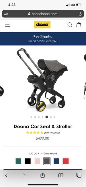 Donna car seat and stroller for Sale in Jacksonville, FL