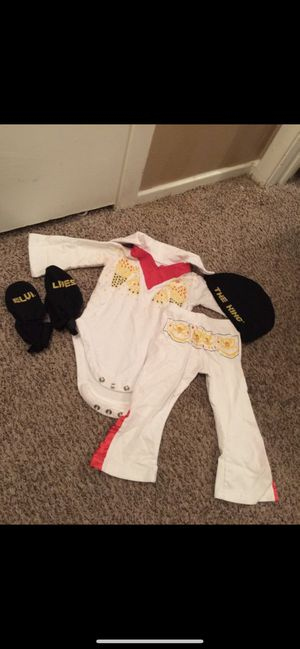 Baby Elvis Presley costume for Sale in Fort Worth, TX