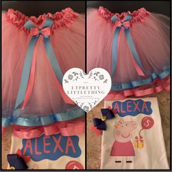 Peppa pig Tutu Outfit for Sale in Bell,  CA