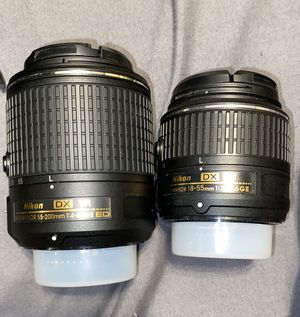 Nikon Camera lenses for Sale in Moreno Valley, CA