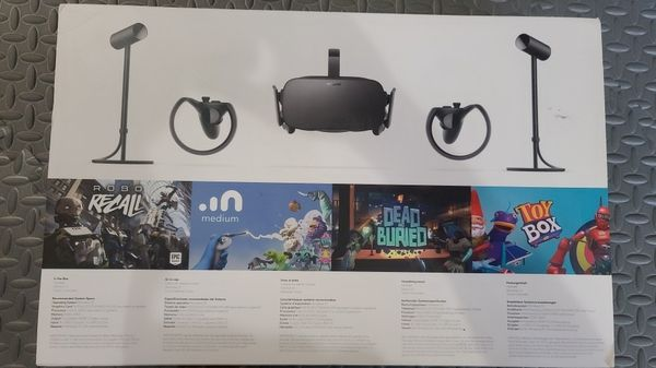 Brand New in Box Oculus Rift