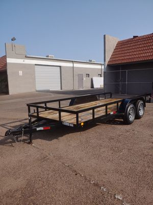 16ft utility trailer yes it's still available for Sale in Tempe, AZ