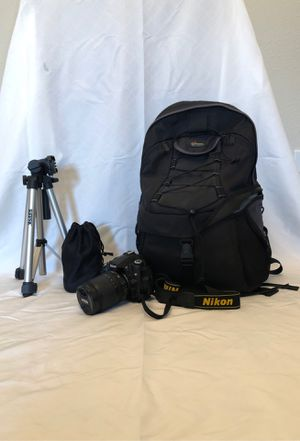 Nikon d90 with accessories. for Sale in Laguna Niguel, CA