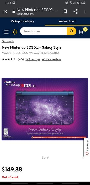 NINTENDO 3DS XL GALAXY style for Sale in Stockton, CA