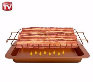 Bacon Bonanza by Gotham Steel Oven Healthier Bacon Drip Rack Tray with Pan - NEW for Sale in Henderson, NV