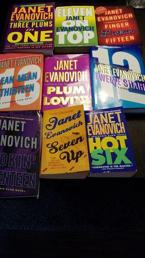 9 janet evanovich books for Sale in Glendora, CA