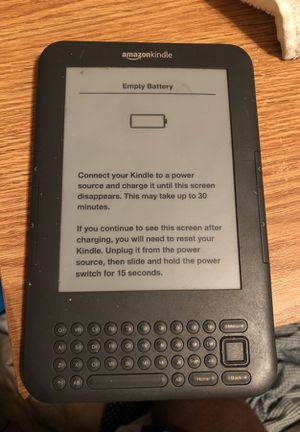 Amazon Kindle 3rd Generation for Sale in Washington, DC
