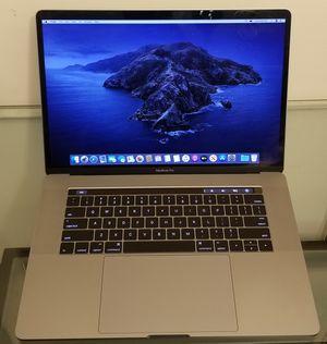 "Macbook Pro 15"" Intel Quad-Core i7 16GB Touch Bar for Sale in Arlington, VA"