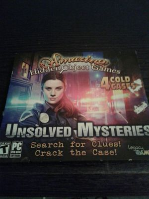 Computer games scary games/detective hidden 4n1 for Sale in Baton Rouge, LA