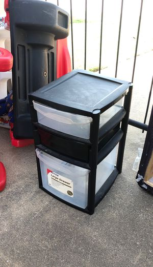 Plastic drawer for Sale in McKinney, TX