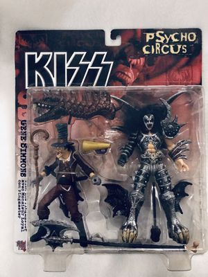 KISS psycho Circus Gene Simmons / The Ring Master Action Figures By McFarlane Toys for Sale in Meadows Place, TX