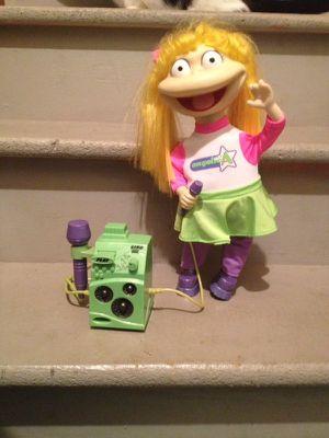 Rugrats Angelica Karaoke sing along doll for Sale in Littleton, CO