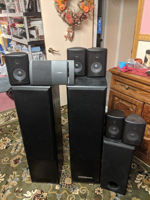 Speaker souround sound Digital pro audio Bose home theater for Sale in Bedford, MA