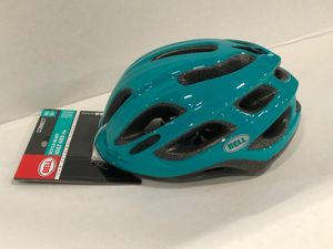 New Emerald Green Sports Quest Adjustable Vented Unisex Men Women Adult Bike Helmet Ages 14 plus for Sale in Whittier, CA