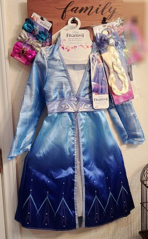 Frozen costume bundles of Anna and elsa. for Sale in Spring, TX