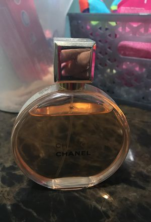 Perfum original just a little bit used Chanel chance for Sale in Oxon Hill, MD