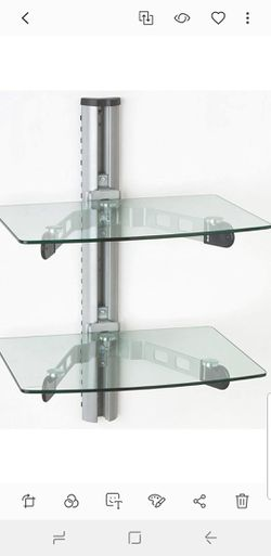 Displays2Go Wall mount glass shelves for Sale in Tinton Falls,  NJ
