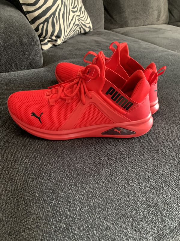 Pumas - Red, Size 12
