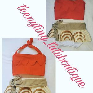 Baby Moana Costume Homemade for Sale in Lawndale, CA