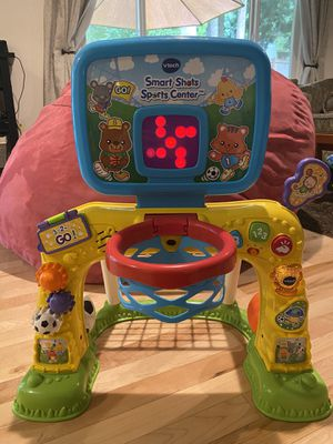 VTech Smart Shots Sports Center - Basketball and Soccer Toy for Toddlers for Sale in Redmond, WA