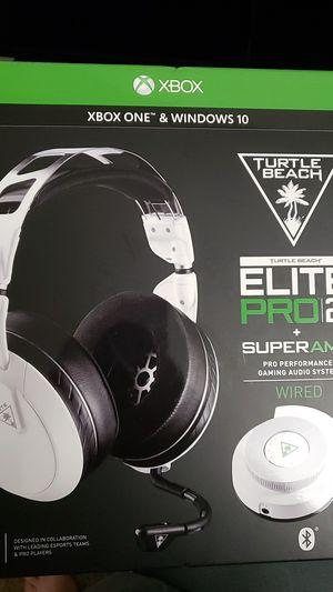 Turtle beach elite pro 2 + supermix amp xboxone for Sale in El Cajon, CA