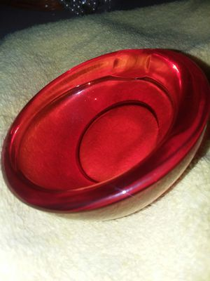 Viking Glass Horseshoe Elliptical Ashtray for Sale in Gilmer, TX