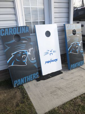Carolina panthers cornhole for Sale in High Point, NC