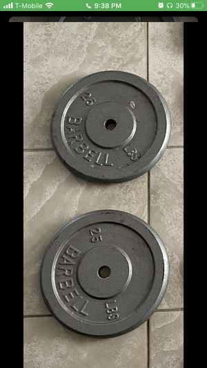 """Weight Plates 1"""" for Sale in Glendale, AZ"""