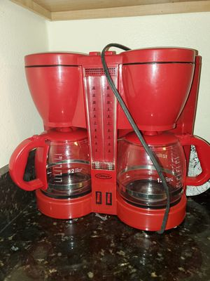 coffee maker (doble) for sale for Sale in Kissimmee, FL