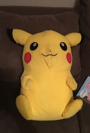 Pokémon Picachu Stuffed animal large size for Sale in Denver, CO