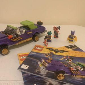 Joker Notorious Low Rider (Lego Set 70906) for Sale in Clovis, CA