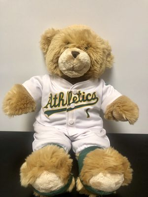 Oakland A's Teddy Bear Plush for Sale in Manteca, CA
