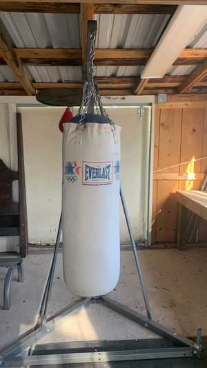 Everlast punching bag great condition $75 obo needs to be gone in next few hours I'm in process of moving . for Sale in Albuquerque, NM
