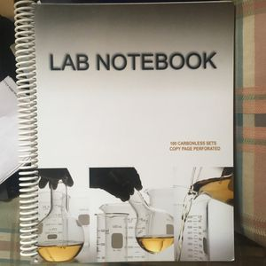 Carbon Paper Lab Notebook (Barbakam) for Sale in Detroit, MI
