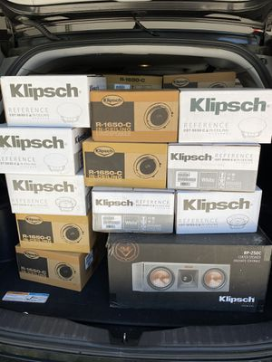 Klipsch speakers for Sale in Chula Vista, CA