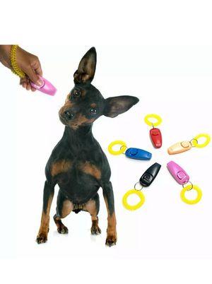 LOT Pets Training Clicker 2 in 1 Whistle Clicker Combo wrist Strap for Sale in Miami Beach, FL