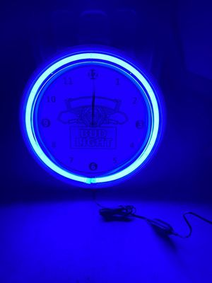 Brand New Bud Light Led Clock... for Sale in US