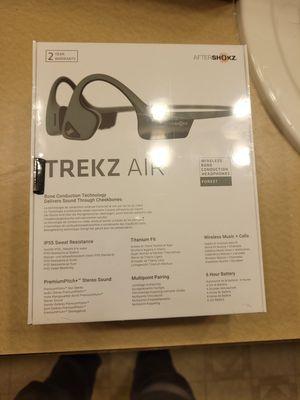 Aftershokz Trekz air titanium bone conduction Bluetooth headphones for Sale in Portland, OR