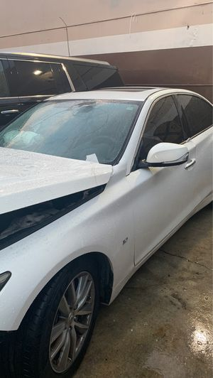 14 Infiniti Q50 for parts call for Sale in Hialeah, FL