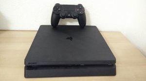 PS4 SLIM 500GB + 4 DIGITAL GAMES, PRICE FIRM, NO TRADE, READ DESCRIPTION FOR DETAILS for Sale in Garden Grove, CA