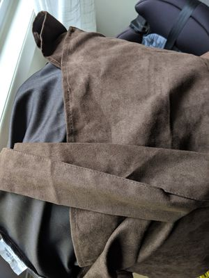 Free! Brown love seat cover for Sale in Portland, OR