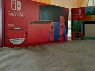 Nintendo Switch Mario Edition And Animal Crossing Edition for Sale in Gaithersburg,  MD