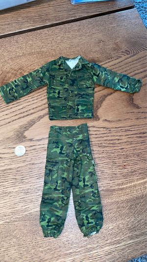 "1/6 scale camouflage uniform for action Figures 12"" inches Toys for Sale in Apopka, FL"